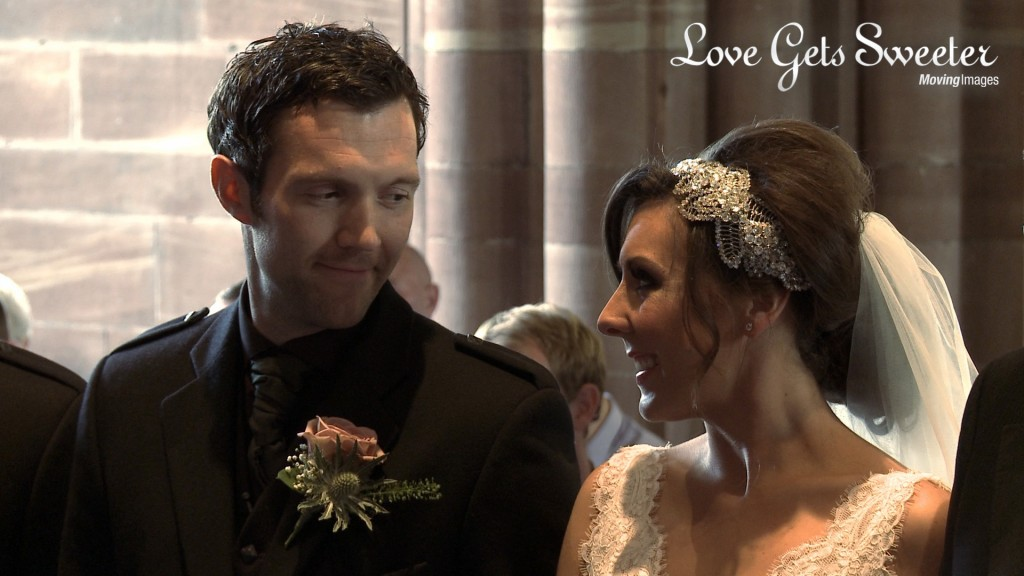 Love Gets Sweeter Vicky Gareth wedding film Cheshire