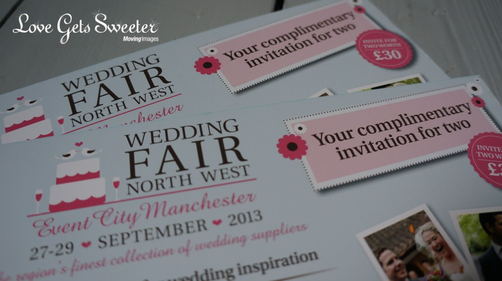 North west wedding fair 2013 free tickets 1