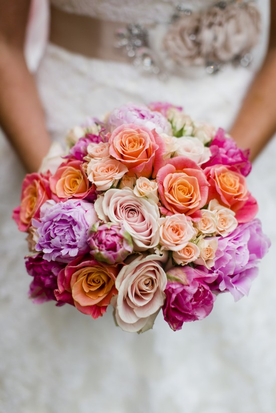 bright bridal bouquet captured by lottie designs photography