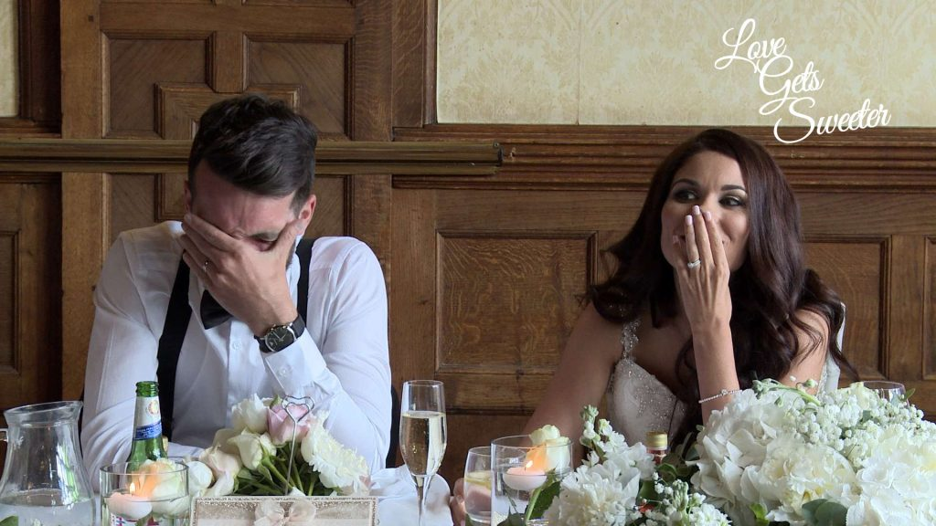 funny best men speech causes some embarrassment for the groom during their wedding at armathwaite hall